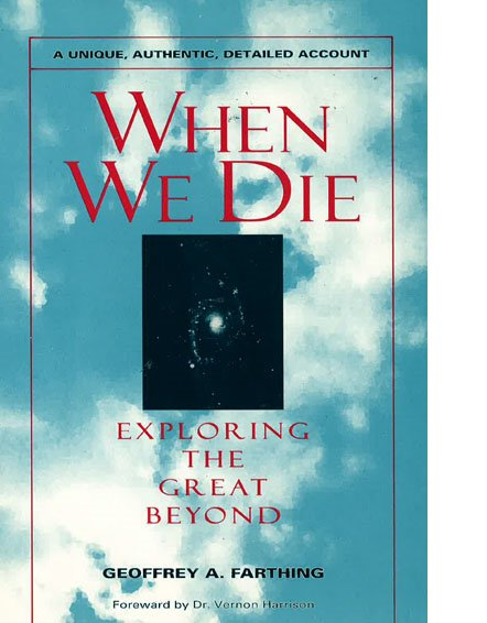 Cover of When We Die book by Geoffrey Farthing
